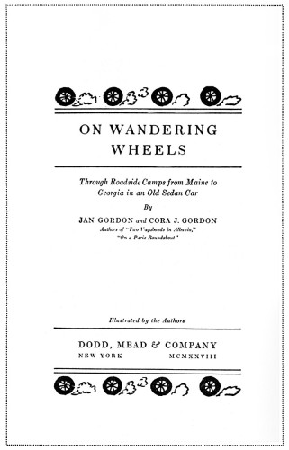 On Wandering Wheels