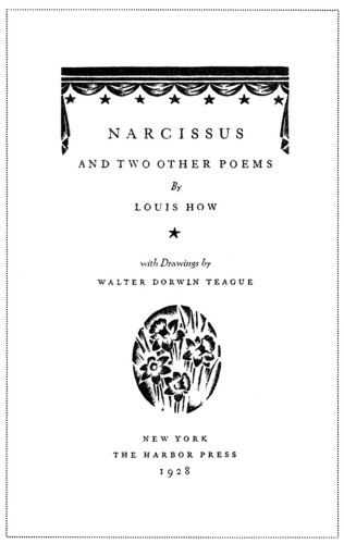 Narcissus and Two Other Poems
