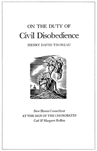 who wrote the essay civil disobedience Henry david thoreau (born david henry thoreau july 12, 1817 may 6, 1862) was an american author, poet, abolitionist, naturalist, tax resister, development critic he is best known for his book walden, a reflection upon simple living in natural surroundings, and his essay, civil disobedience, an argument for individual.