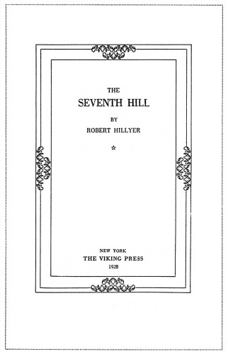 The Seventh Hill
