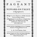 The Pageant of Newark-on-Trent in Nottinghamshire