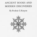 Ancient Books and Modern Discoveries