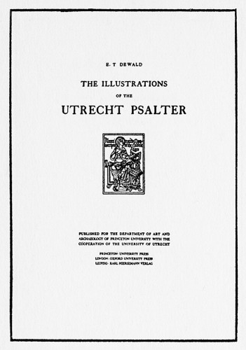 Illustrations of the Utrecht Psalter