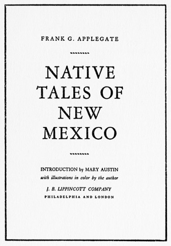 Native Tales of New Mexico
