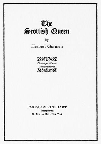 The Scottish Queen