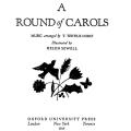 A Round of Carols, Music Arranged by T. Tertius Noble