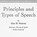 Principles and Types of Speech