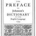 The Preface to Johnson's Dictionary of the English Language, 1755