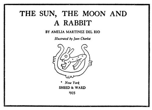 The Sun, the Moon, and a Rabbit