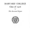 Harvard College Class of 1926: The Decentennial Report