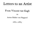 Letters to an Artist: From Vincent van Gogh to Anton Ridder van Rappard