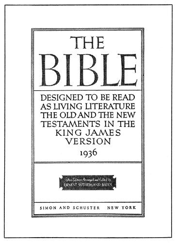 The Bible: Designed to be Read as Living Literature