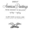 Great American Paintings