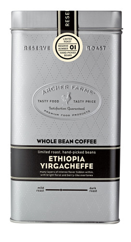 Coffee Reserve Packaging