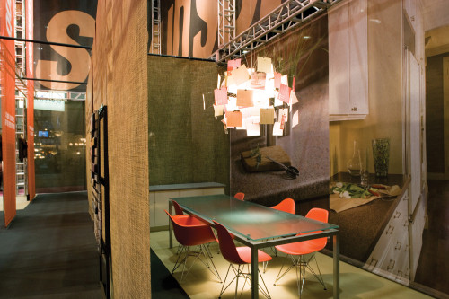 Formica trade stand, International Home Builders' Show 2007, Environment