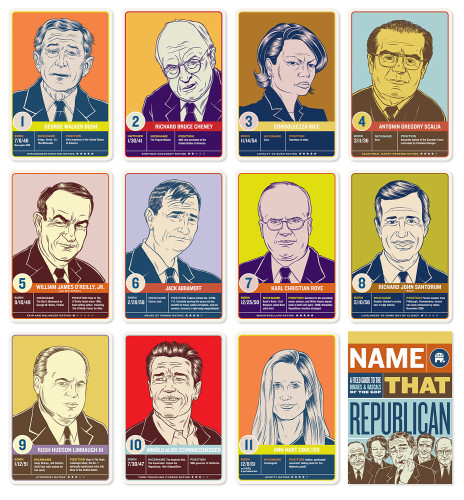 Name That Republican: A Field Guide to the Rogues and Rascals of the GOP