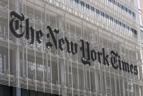 New York Times Building Exterior
