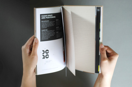 Oregon College of Art & Craft, Identity Guidelines Manual