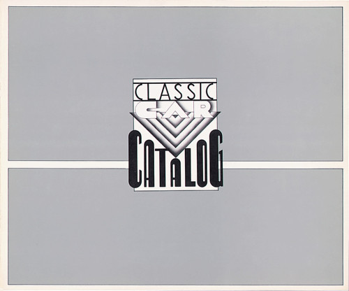 Classic Car Catalog, 1974, no. 60