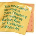 Claes Oldenburg catalogue
