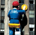 Rockefeller Center window cleaner