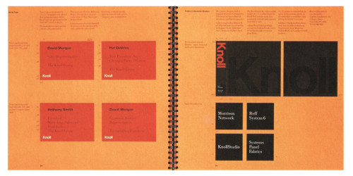 Knoll Identity Guidelines Brochure