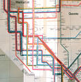 New York Metropolitan Transit Authority Subway Map