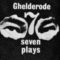 Michel de Ghelderode: Seven Plays
