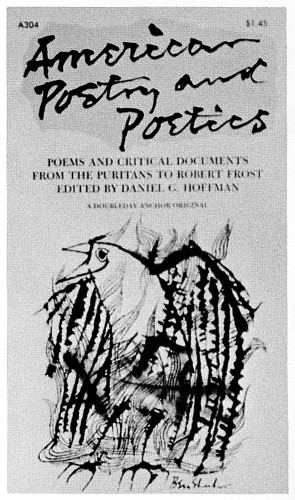 American Poetry and Poetics
