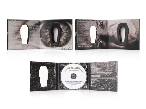 Metallica, Death Magnetic CD Packaging