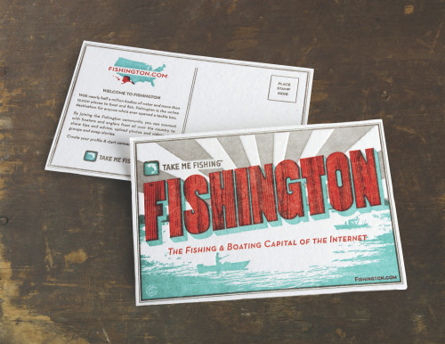 Fishington Postcards