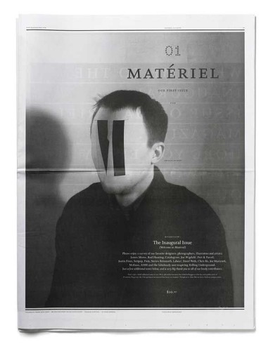 Matériel, Issue One
