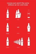 Coca-Cola Cinema Poster