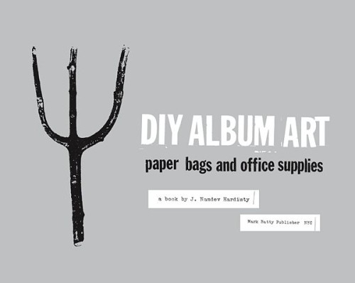 DIY Album Art: Paper Bags & Office Supplies