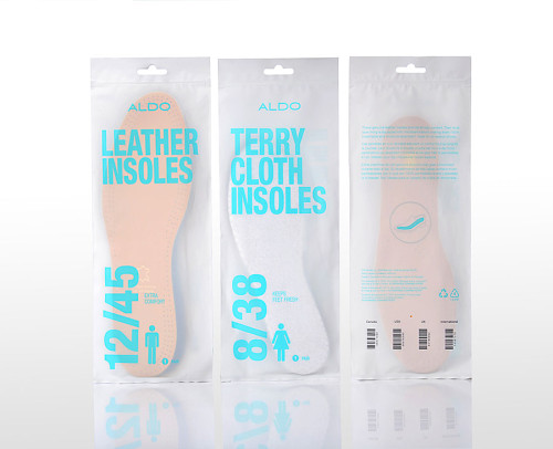 Aldo Comfort and Fit Packaging
