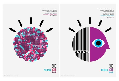 IBM Smarter Planet Illustrations and Posters