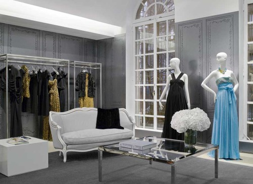 Christian Dior temporary store