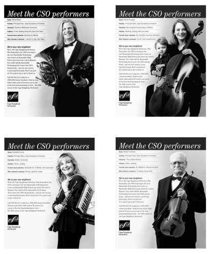 "Cape Symphony Orchestra ""Meet the CSO Performers"""