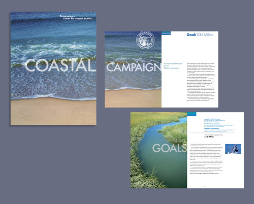 "Provincetown Center for Coastal Studies ""Coastal Campaign"" fund raising brochure"