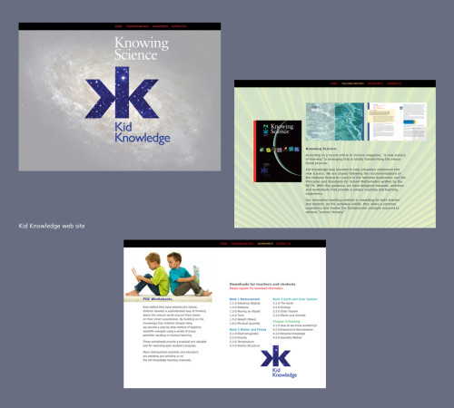 Kid Knowledge web site