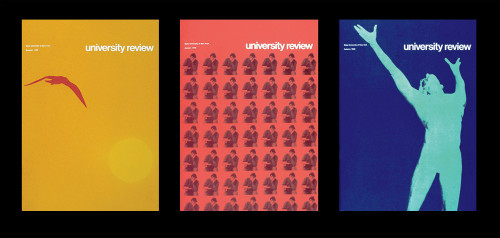 """University Review"" quarterly magazine"