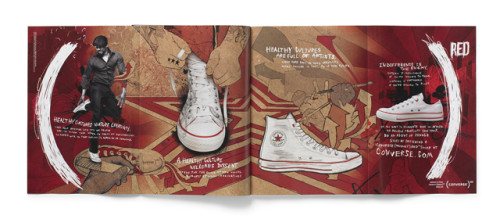 (CONVERSE)RED Campaign