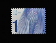 Waves of Color (high-denomination postage stamps)