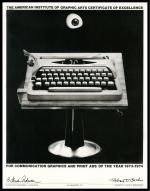 1973–1974 AIGA Promotion Award Certificate