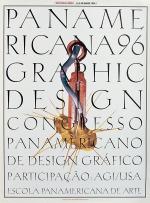 AGI Design Conference Brazil 1996 Poster