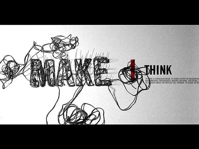 AIGA MAKE/THINK Conference - Title Sequences & Motion Graphics